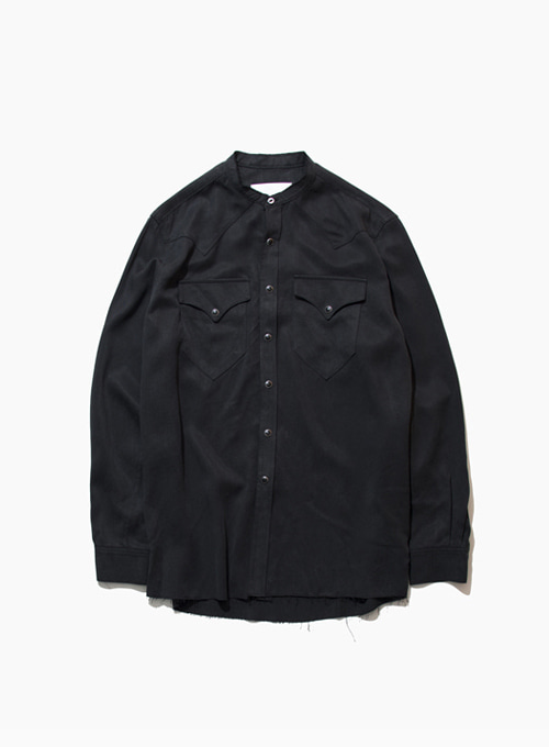 ROCKMOUNT SHIRTS / TENCEL (BLACK)