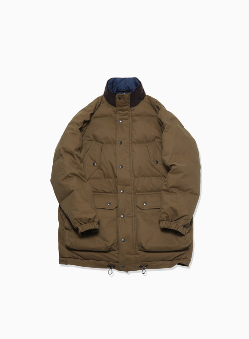 6 POCKET CLASSIC GOOSE DOWN PARKA (HUNTING GREEN)