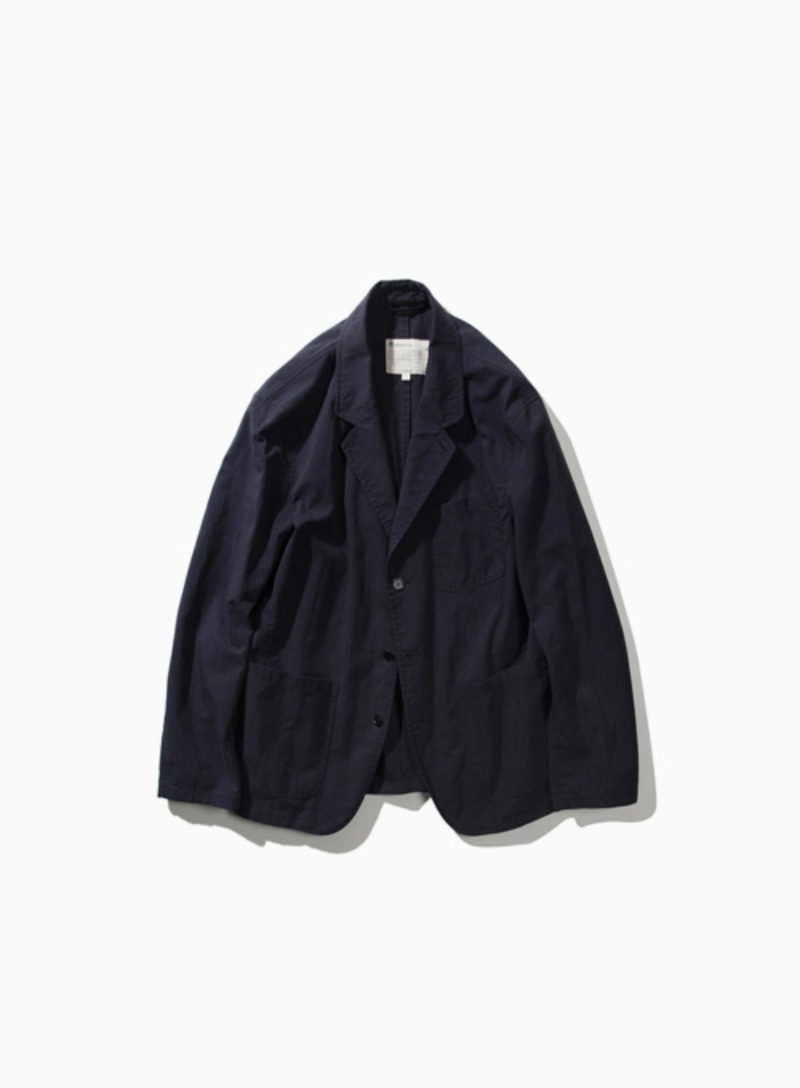 WASHED SPORTS JACKET (NAVY)