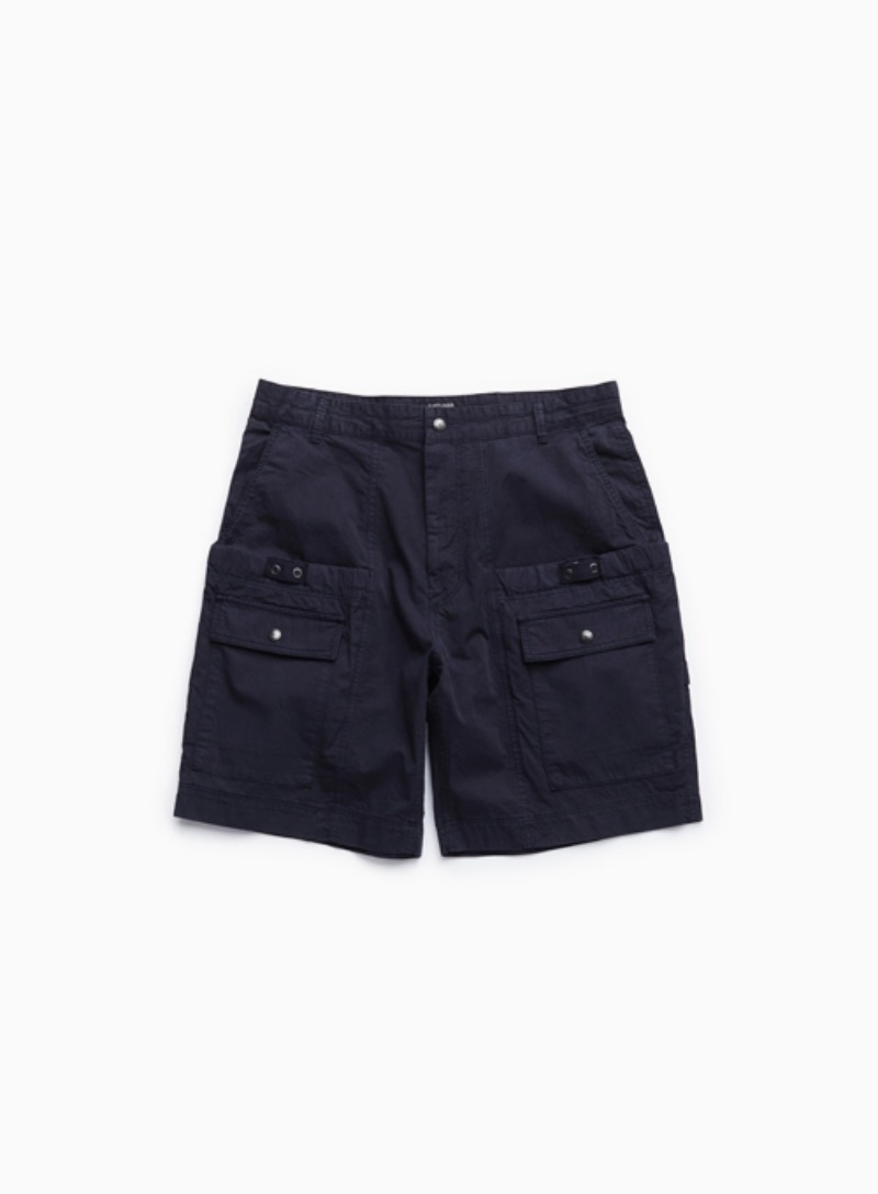WAGON SHORTS (DYED NAVY)