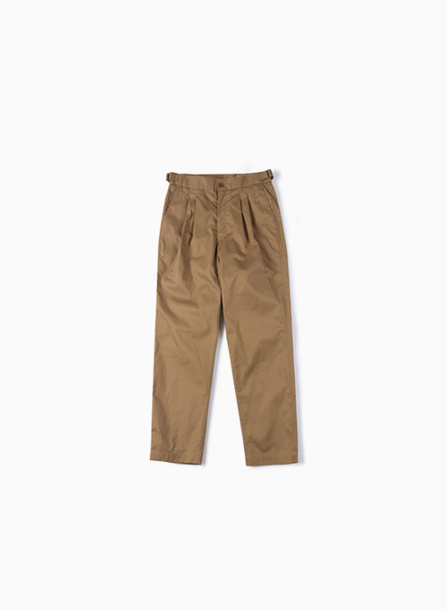 HARD WASHER COTTON PANTS (BEIGE)