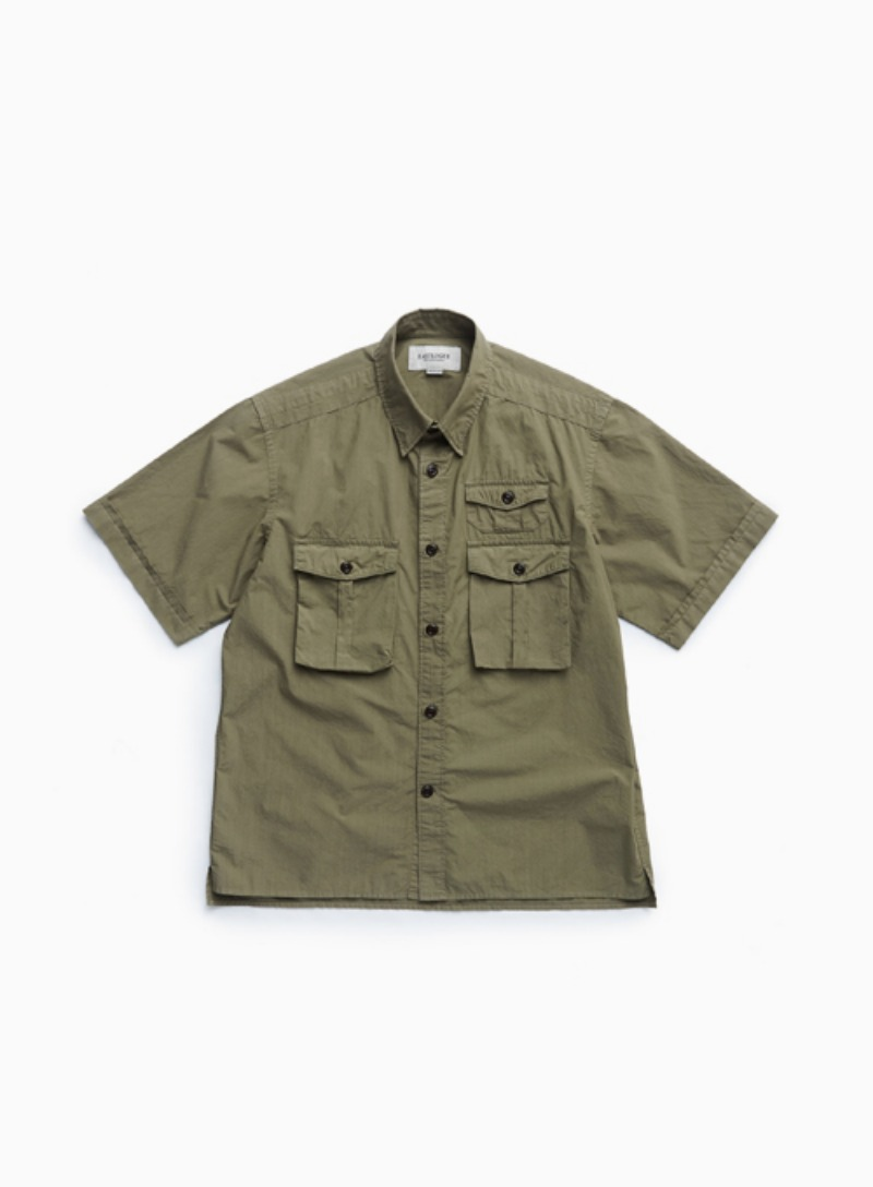 BOYSCOUT SHIRT (DYED OLIVE)