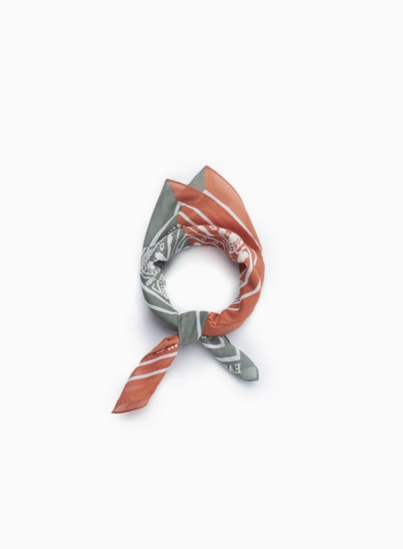 BANDANA (GREEN & ORANGE)