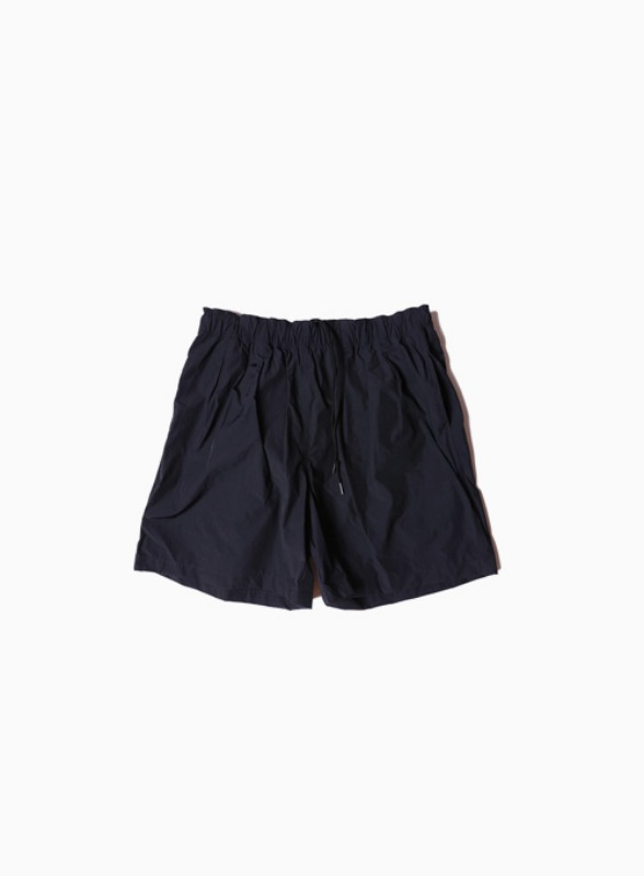 3TUCK WIDE SHORTS (NAVY)