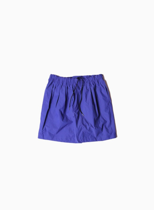 3TUCK WIDE SHORTS (C.BLUE)