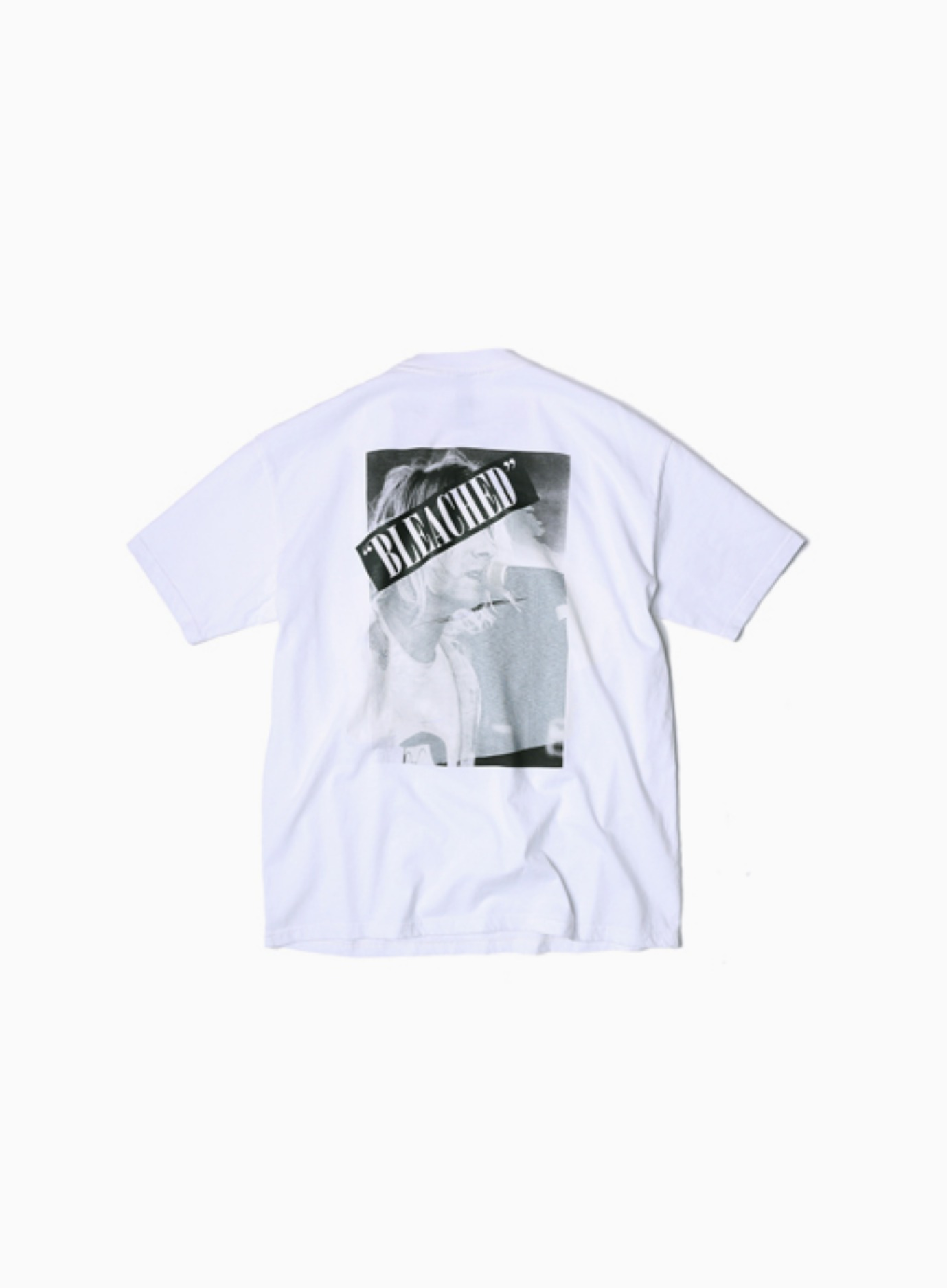 PAINTING BAND TEE CURT (WHITE)