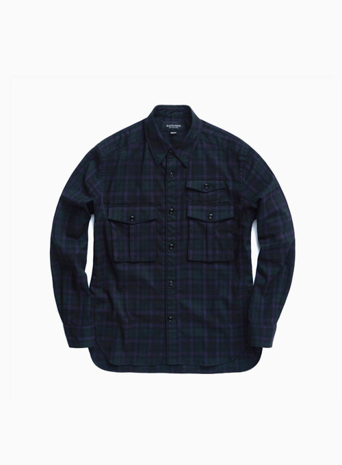 BOYSCOUT SHIRT (BLACK WATCH TWILL)
