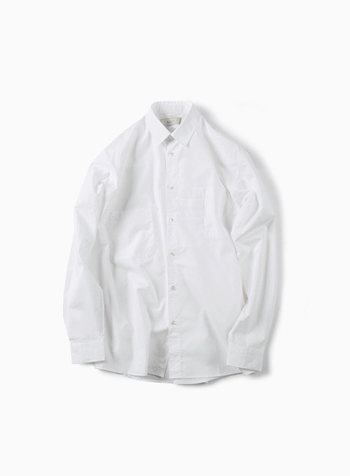 STRATA POCKET SHIRT (WHITE)