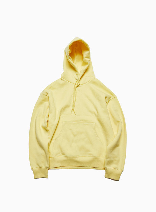 ARCHIVE BLANK HOODIE (YELLOW)