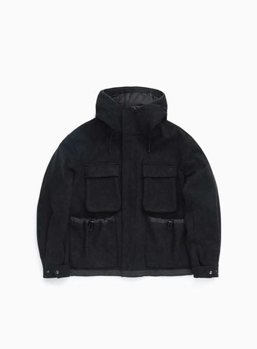 FUNCTIONAL FIELD PARKA (CHARCOAL)