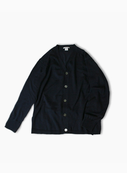 COMFORT INSIDE OUT CARDIGAN (NAVY)