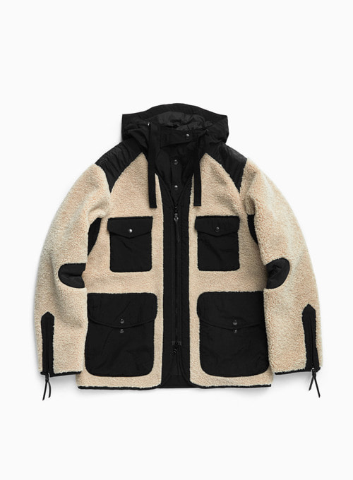 TRAVELER JACKET (BEIGE/BLACK)
