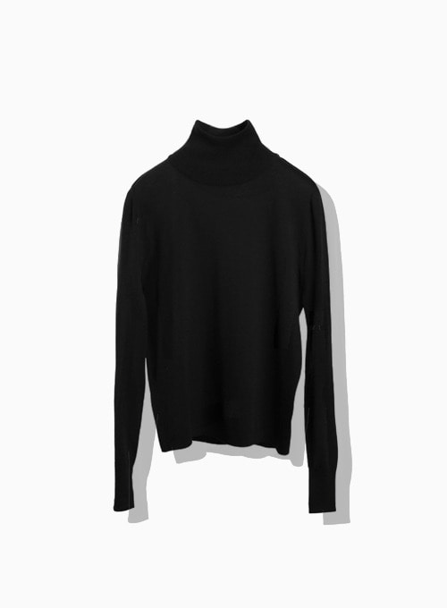 CASHMERE TURTLE (BLACK)