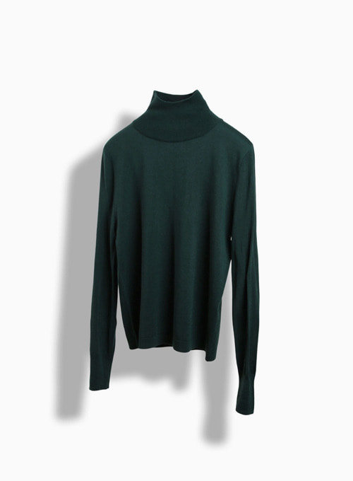 CASHMERE TURTLE (GREEN)