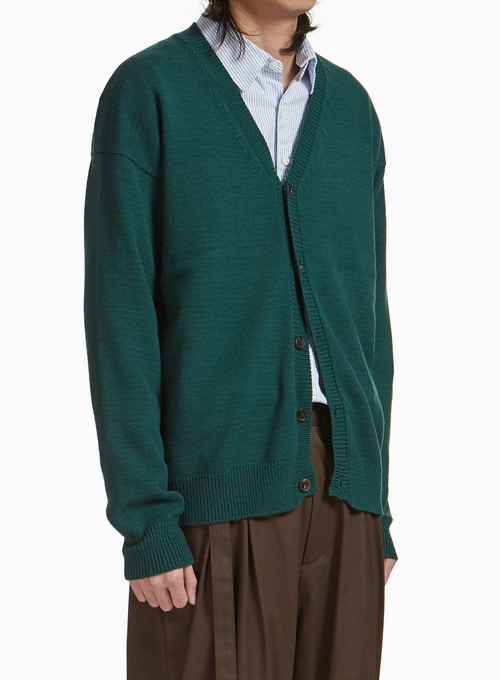 OVERSIZED CARDIGAN (GREEN)