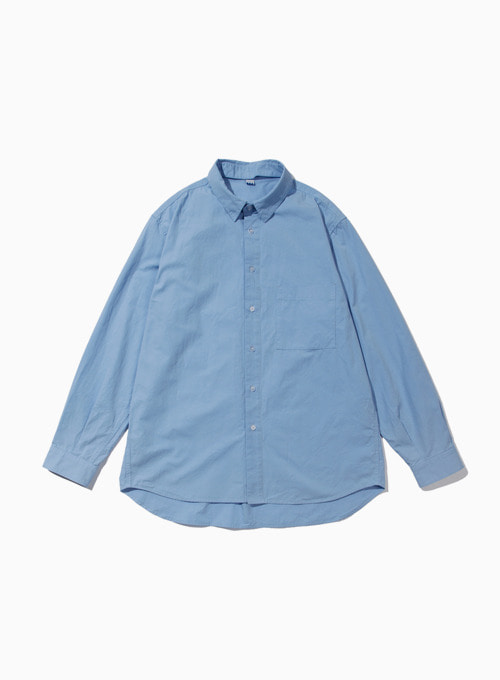 CHANGE COLLAR SHIRT (BLUE)
