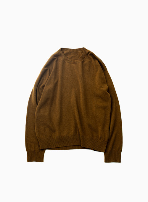 CREWNECK KNIT (BROWN)