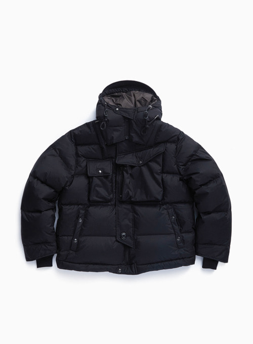CBA DOWN PARKA (BLACK SHIELD)