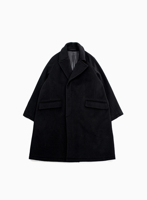 CHESTERFIELD COAT (BLACK)