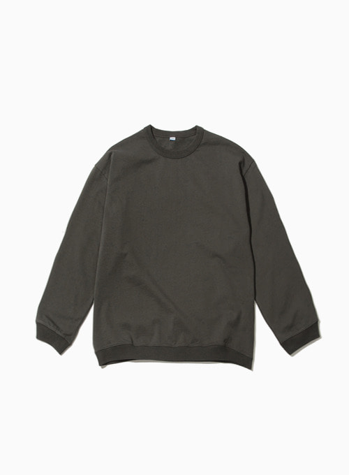 BAGGY SWEATSHIRT (CHARCOAL)