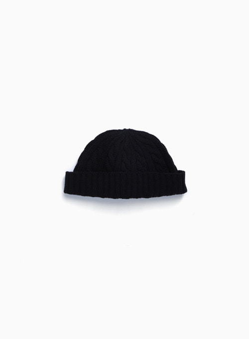 FISHERMAN WATCH CAP (BLACK)