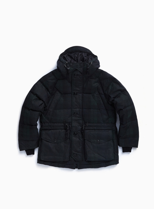 UTILITY SHIELD PARKA (BLACK WATCH WAX)