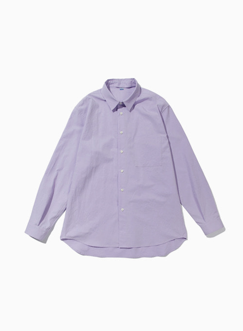 CHANGE COLLAR SHIRT (PURPLE)