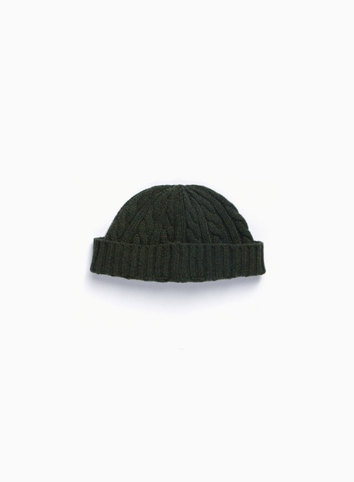 FISHERMAN WATCH CAP (D.OLIVE)