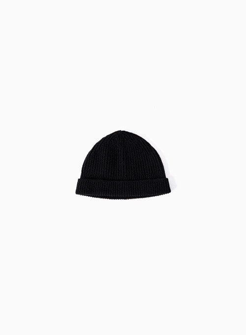 WATCH CAP (BLACK)
