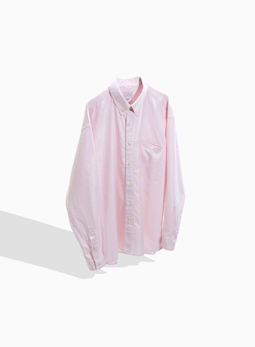 BUTTON DOWN SHIRT (LIGHT PINK)