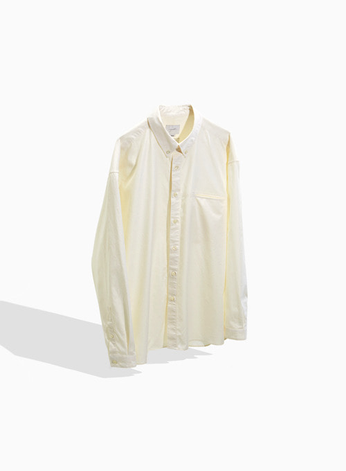 BUTTON DOWN SHIRT (IVORY)