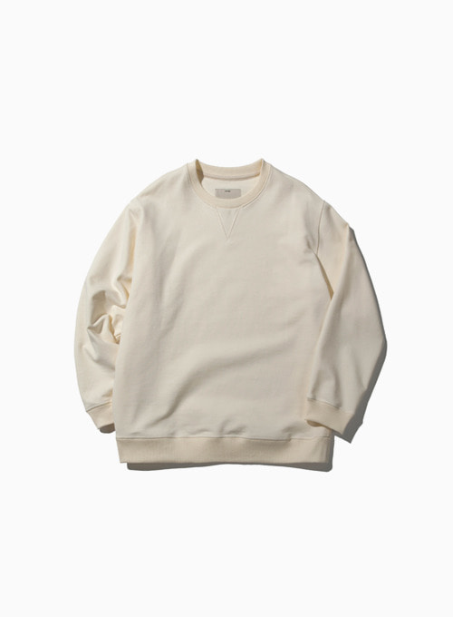 HEAVY SWEAT SHIRT (OFF WHITE)