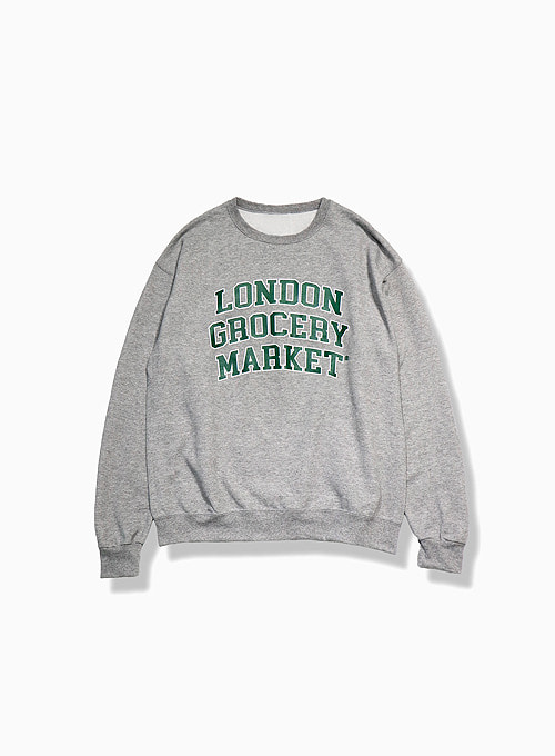 COLLEGE LOGO SWEATSHIRT (GREY)