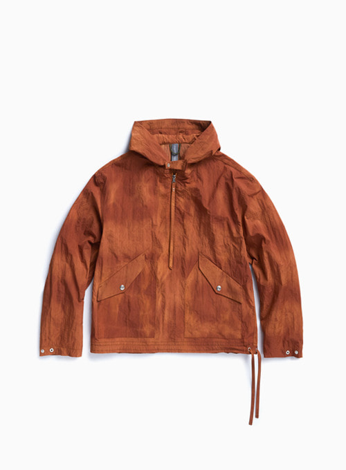 HOODED ANORAK (SUNSET ORANGE)