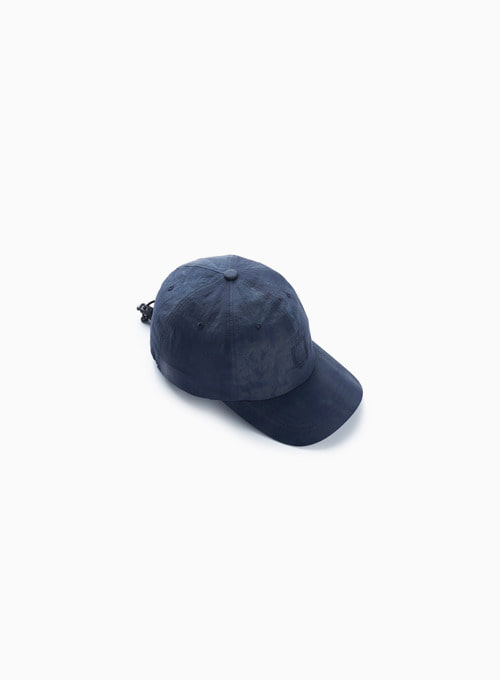 DRAWSTRING BALL CAP (OCEAN BLUE)