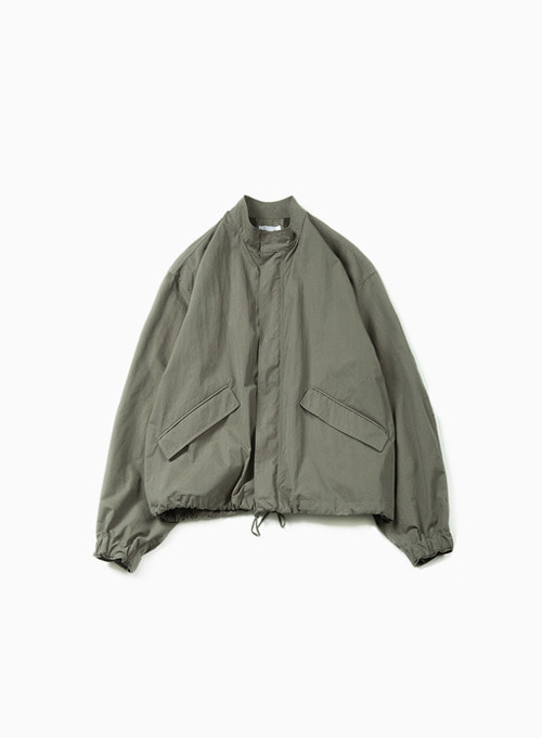 ESSENTIAL SHORT JACKET (OLIVE)