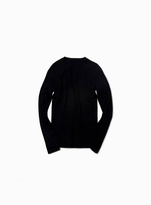 ZERO LONG SLEEVE (BLACK)