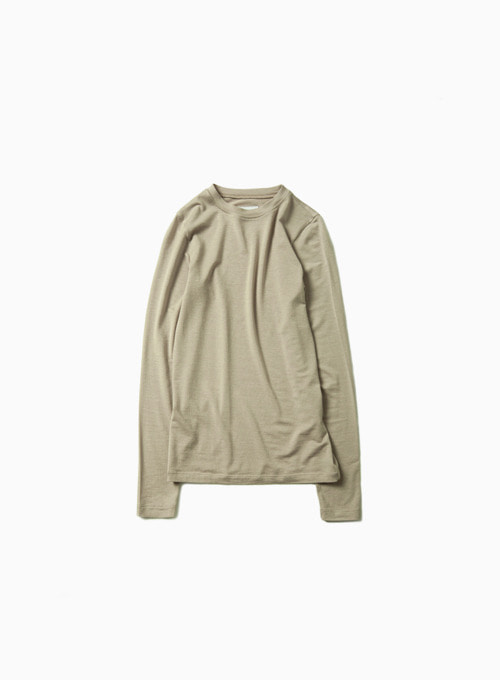 ZERO LONG SLEEVE (BEIGE)