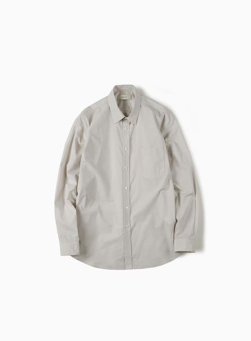 HIGH DENSITY STANDARD SHIRT (LIGHT BEIGE)