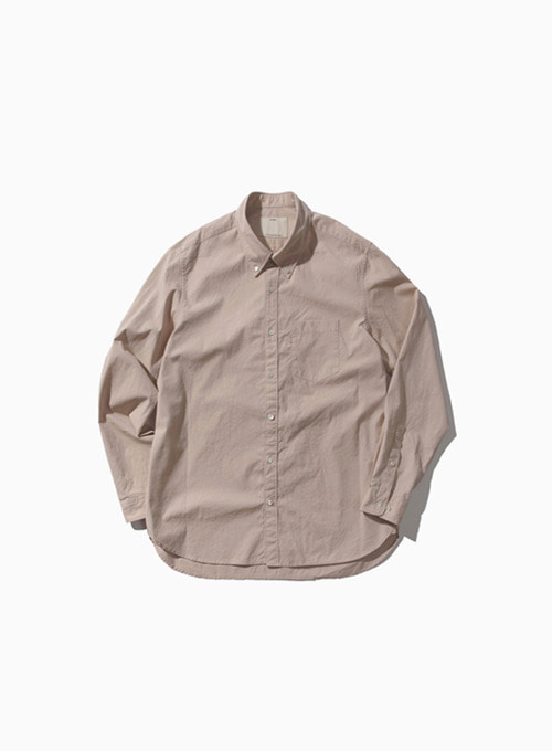 BUTTON DOWN SHIRT (ANTIQUE GOLD)