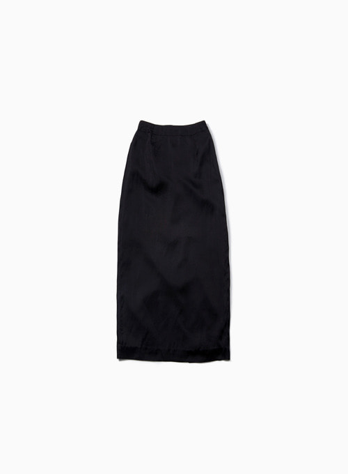ZERO H SLIT SKIRT (BLACK)