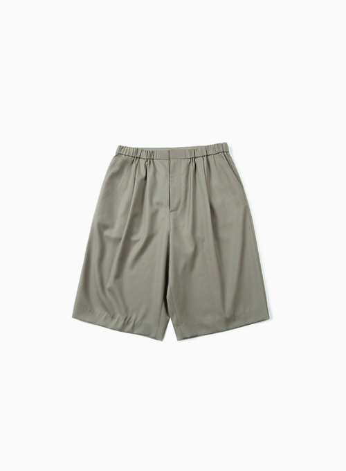 HALF PANTS (LIGHT OLIVE)