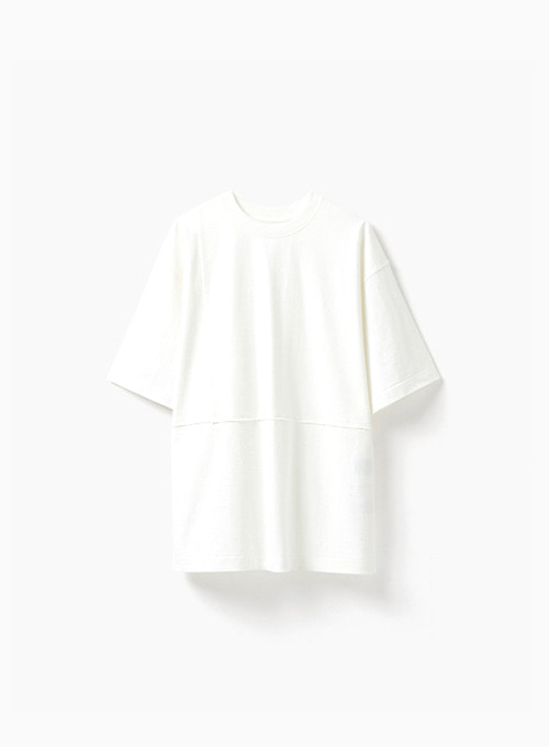 CUT OFF T-SHIRT (WHITE)