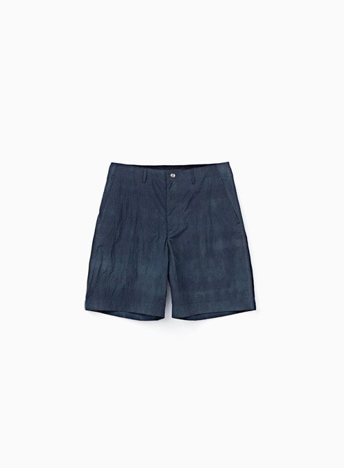 CONTRAST STITCH SHORTS (OCEAN BLUE)