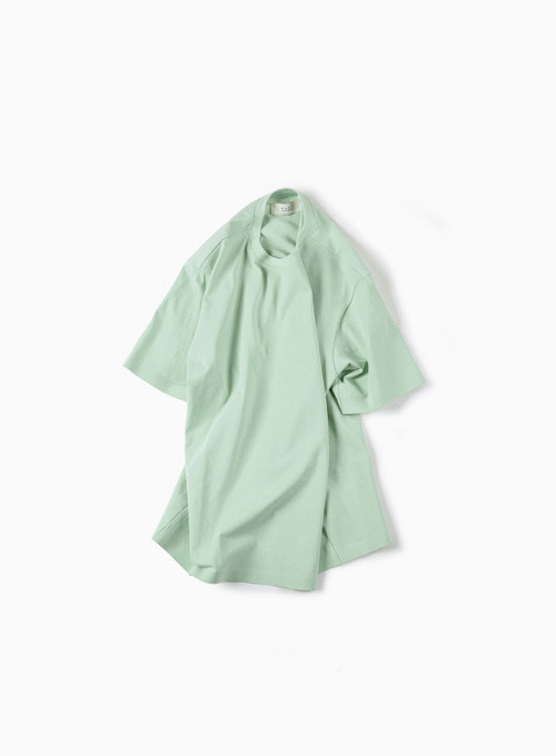 02 SEAMLESS HEM T-SHIRT (MINT)