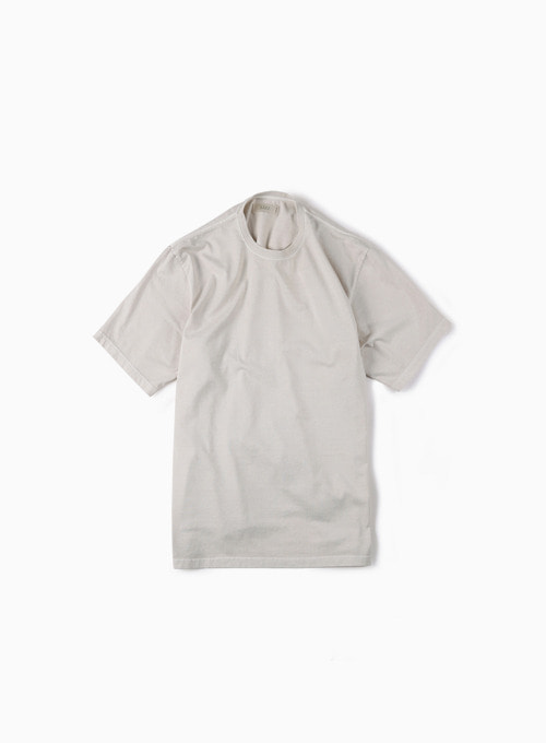GARMENT DYED T-SHIRT (IVORY)