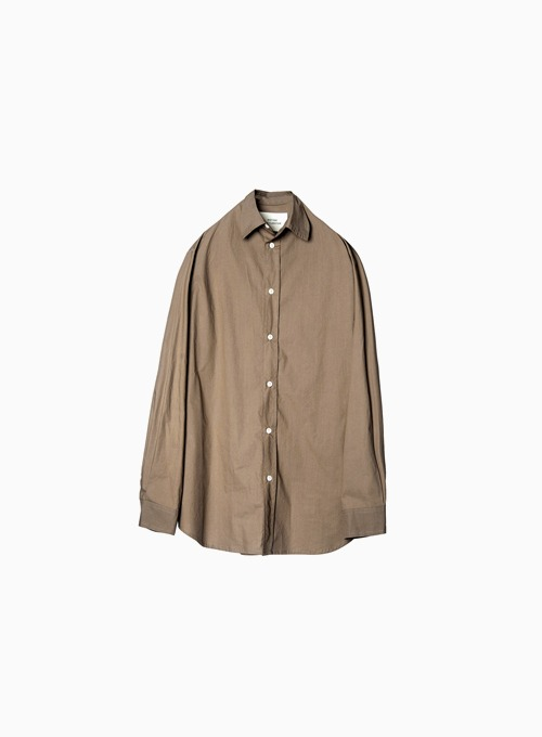 COLLECTOR SHIRT (BROWN)