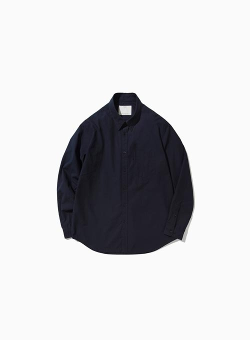 BUTTON DOWN SHIRT (NAVY)