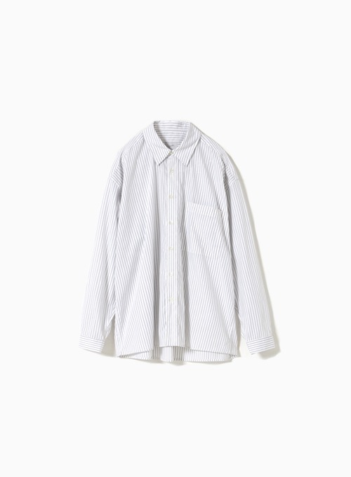 LOOSED SHIRT (WHITE STRIPE)