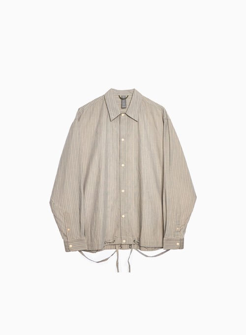 OVERSIZED SHIRT JACKET (BEIGE)